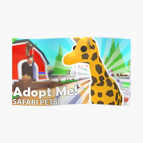 Adopt Me Pet Posters Redbubble