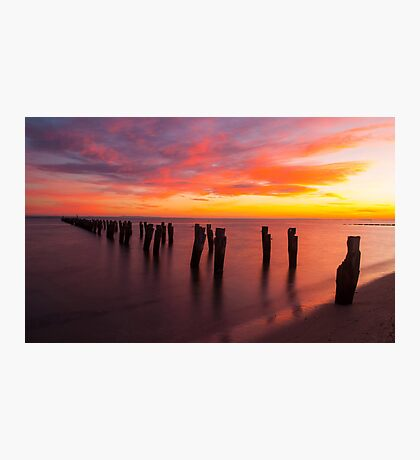 Clifton Springs Dawn Photographic Print