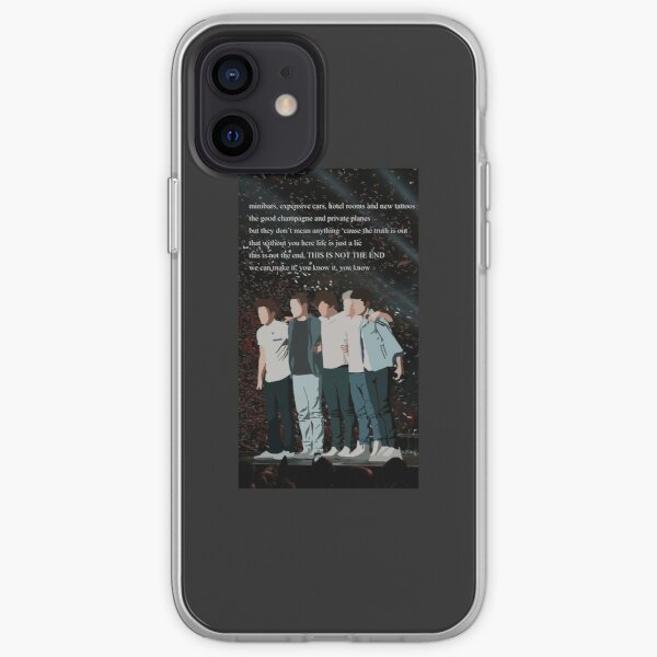 one direction drawing (celebs pack) iPhone Soft Case