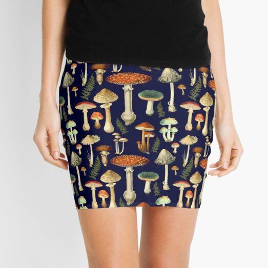 Toadstools Mini Skirt