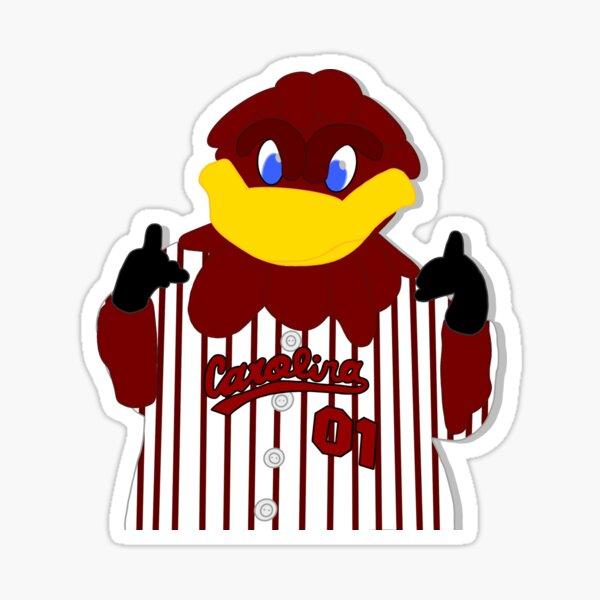 baseball cocky mascot Sticker