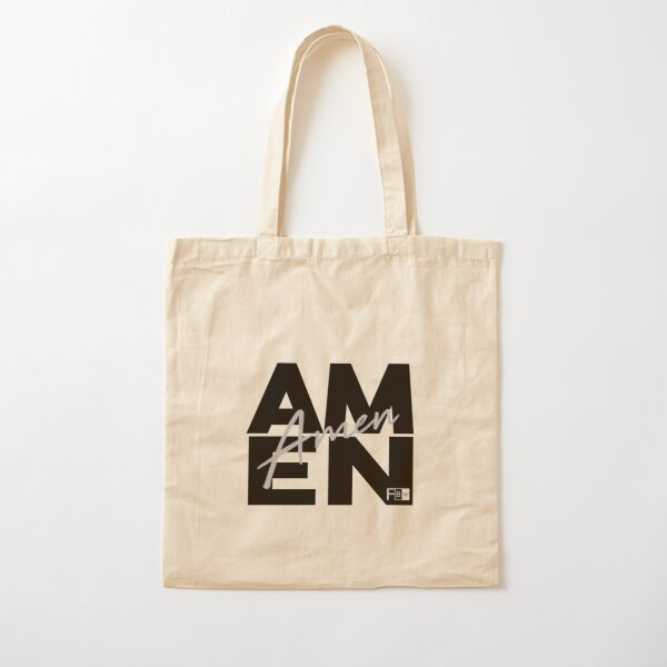 AMEN Cotton Tote Bag