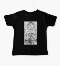 The Moon Tarot Card - Major Arcana - fortune telling - occult Baby Tee