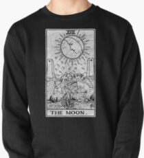 The Moon Tarot Card - Major Arcana - fortune telling - occult Pullover