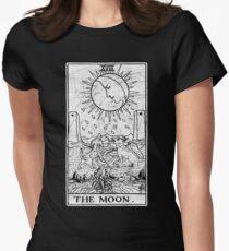 Die Mond Tarot Card - Major Arcana - Wahrsagerei - okkult Tailliertes T-Shirt