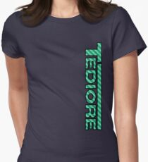 Tediore Carbon Logo Women's Fitted T-Shirt