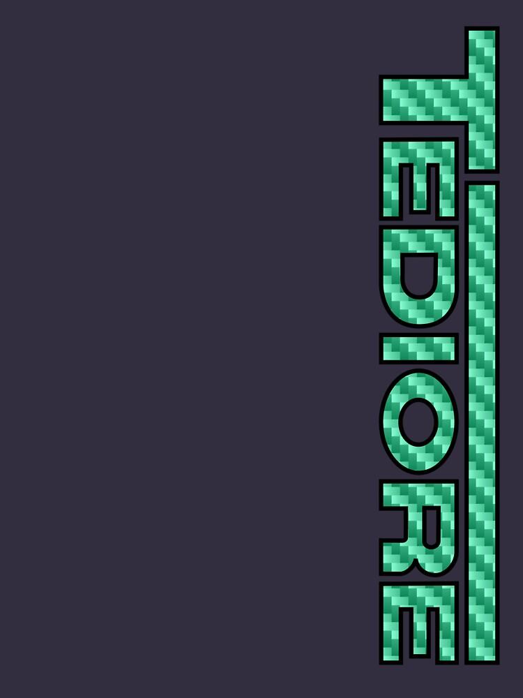 Tediore Carbon Logo | Unisex T-Shirt