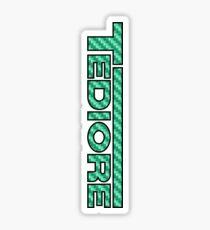 Tediore Carbon Logo Sticker