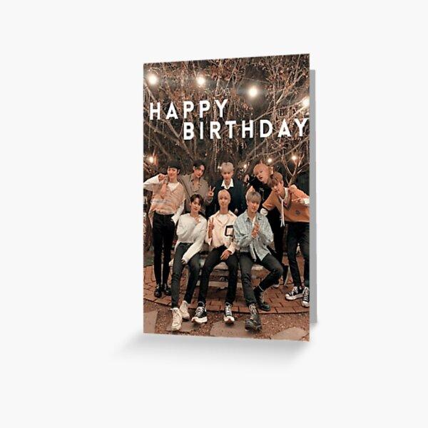 Joyeux anniversaire des enfants errants 4.0 Carte de vœux