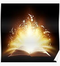 Magic book Poster