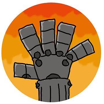 Fullmetal Hand by da4tner