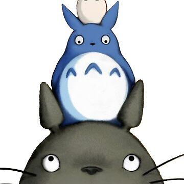 Totoro by Valooid