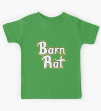 Barn Rat - Lime Green Kids Tee