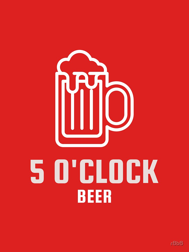 5 O'Clock beer by r8b8