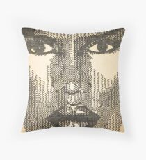 "Grace Jones ""Glow"" Throw Pillow"