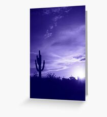 Blue Sunday Greeting Card