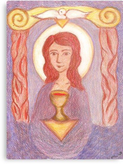 Goddess- Mary Magdalene  by GoddessSpiral