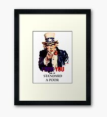 I Rate YOU! Framed Print