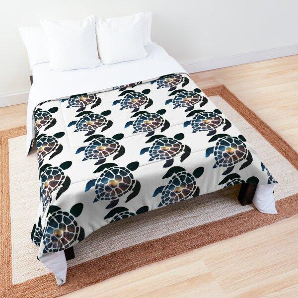 Galaxy Sea Turtle Comforter
