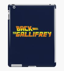 Back to Gallifrey iPad Case/Skin