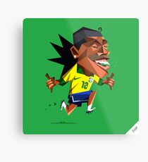 Ronaldinho Soccerminionz Metal Print