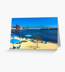 St. Lawrence River Beach Park Greeting Card