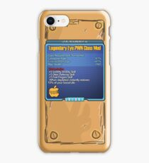 Legendary Eye-Pwn Class Mod iPhone Case/Skin