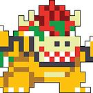 Super Mario Maker - Bowser Costume Sprite by NiGHTSflyer129