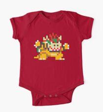 Super Mario Maker - Bowser Costume Sprite One Piece - Short Sleeve