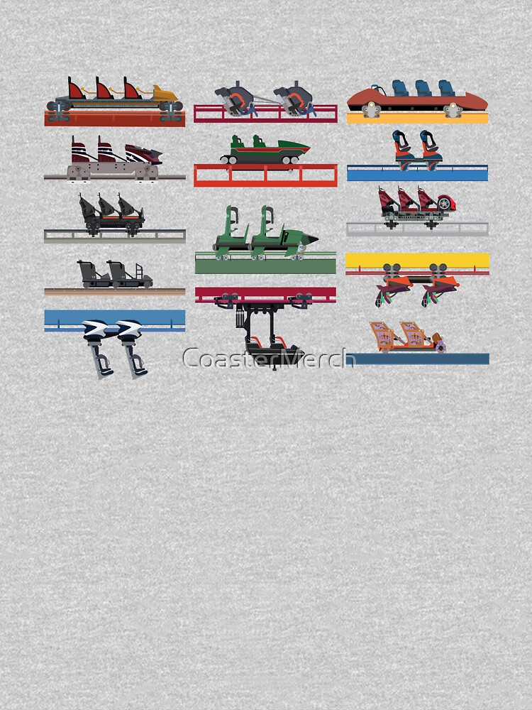Six Flags Magic Mountain Coaster Cars 2020 by CoasterMerch