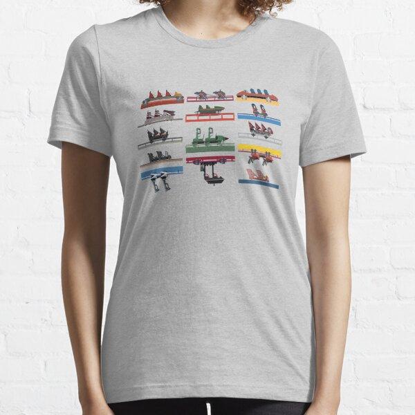 Six Flags Magic Mountain Coaster Cars 2020 Essential T-Shirt