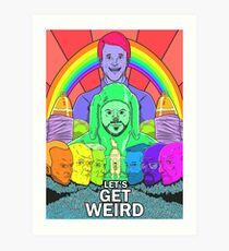 Breaking Mad: Let's Get Wilfred Art Print