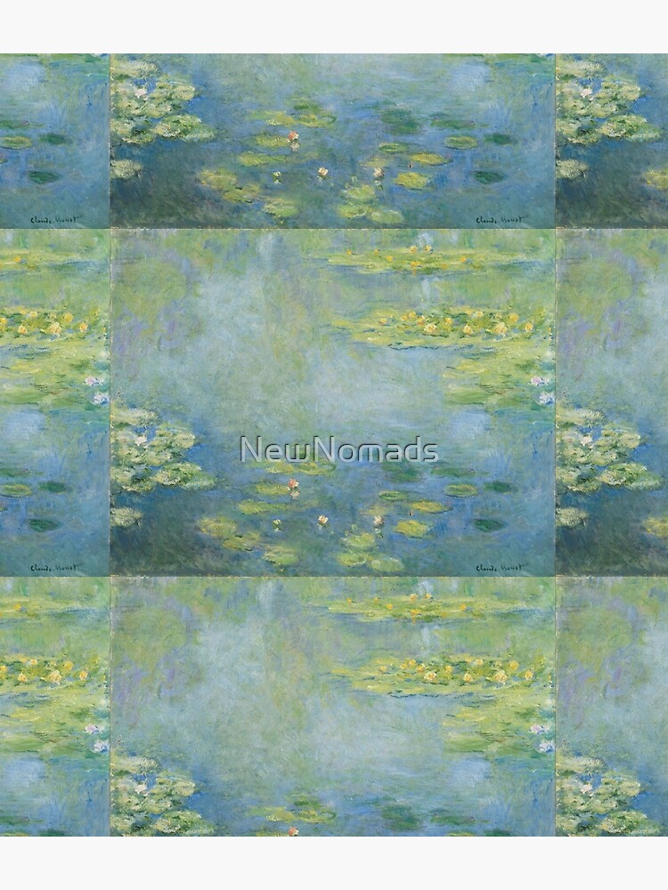 Claude Monet - Waterlilies  by NewNomads