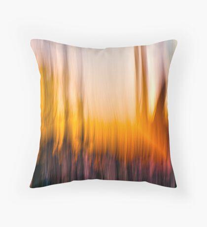 The Burn Throw Pillow