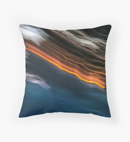 Falling From Grace Throw Pillow