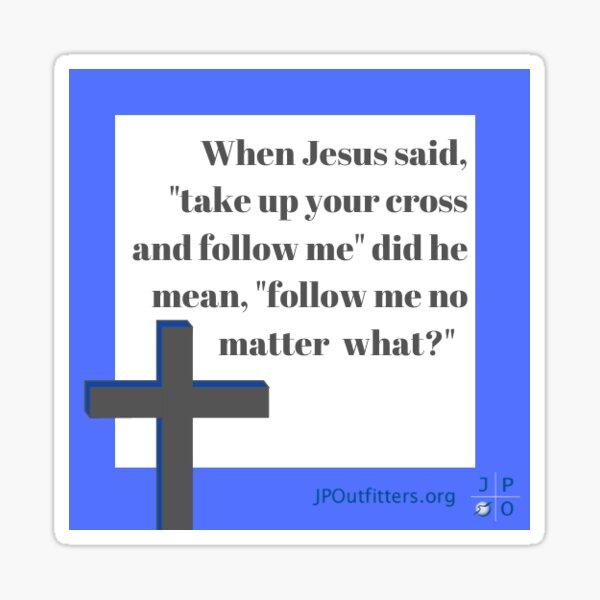 Radical Jesus Sticker