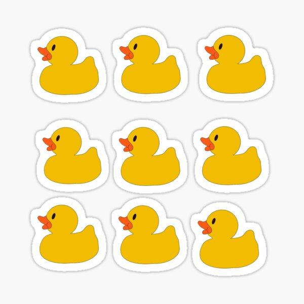 Rubber Duck Sticker Pack Sticker