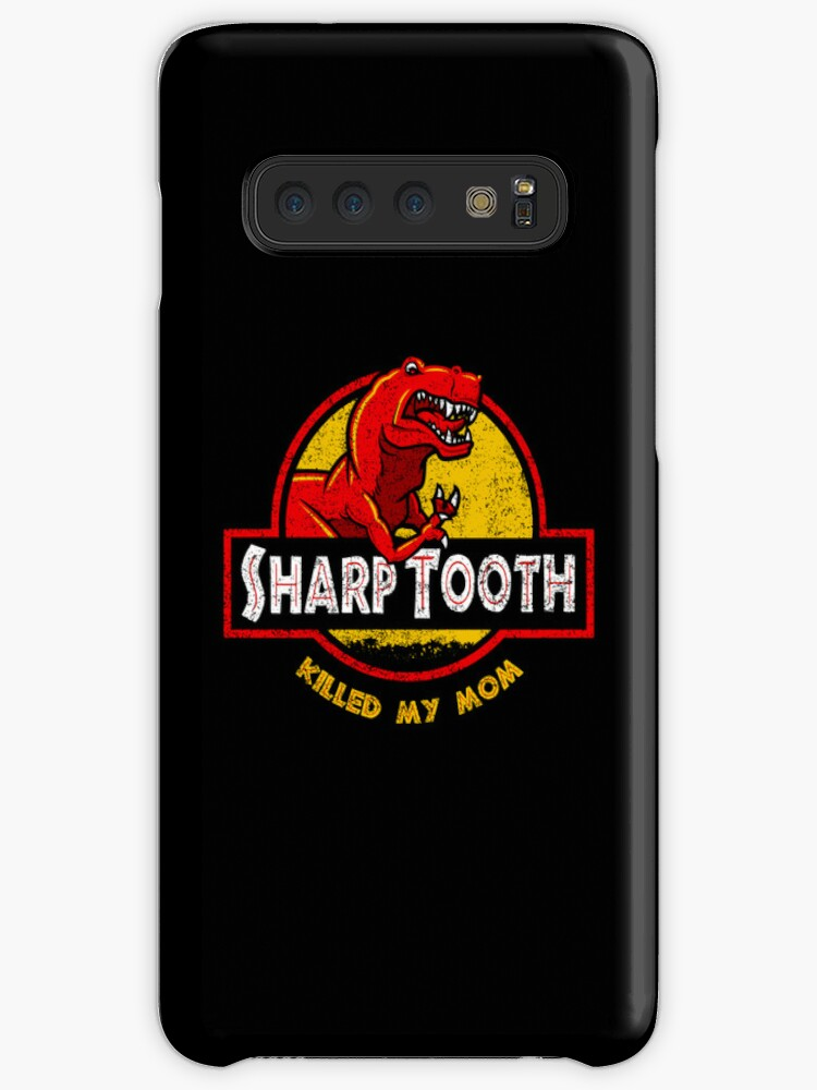 'Sharp Tooth Killed My Mom (Land Before Time)' Case/Skin for Samsung Galaxy  by Tabner