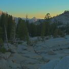 Half Dome In The Distance by Steve Belovarich