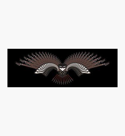 Guitar Bird Photographic Print