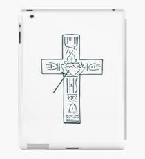 Religious Cross illustration iPad Case/Skin