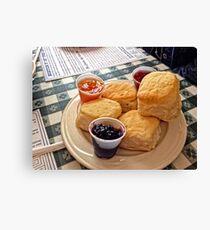 Buttermilk Biscuits Canvas Print