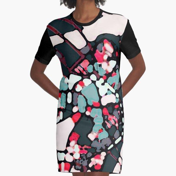 Boston Harbor, MA Graphic T-Shirt Dress