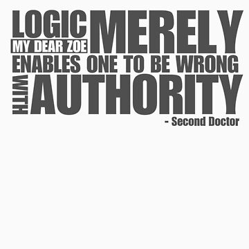 Second Doctor Quote by dbowkercreative