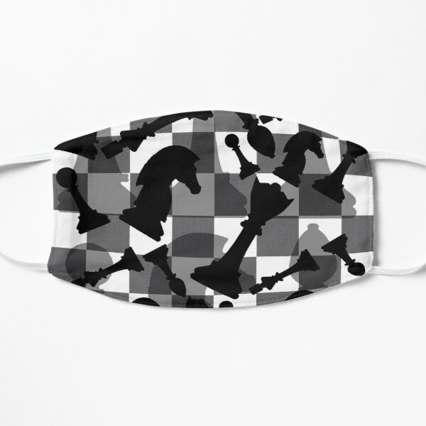 Chess Pieces  Flat Mask
