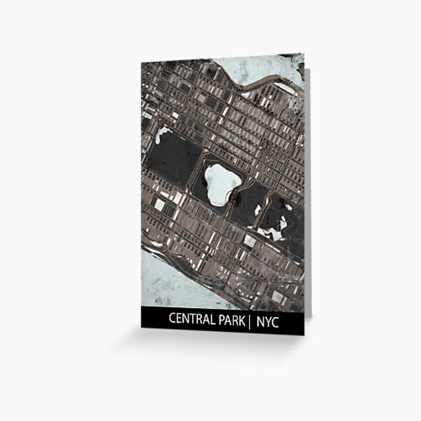 Central Park, NYC Greeting Card