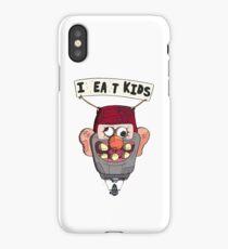 gravity falls i eat kids balloon  iPhone Case/Skin
