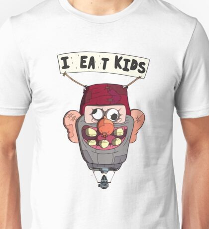 gravity falls i eat kids balloon  Unisex T-Shirt