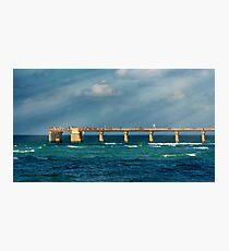 Newport Fishing Pier Photographic Print