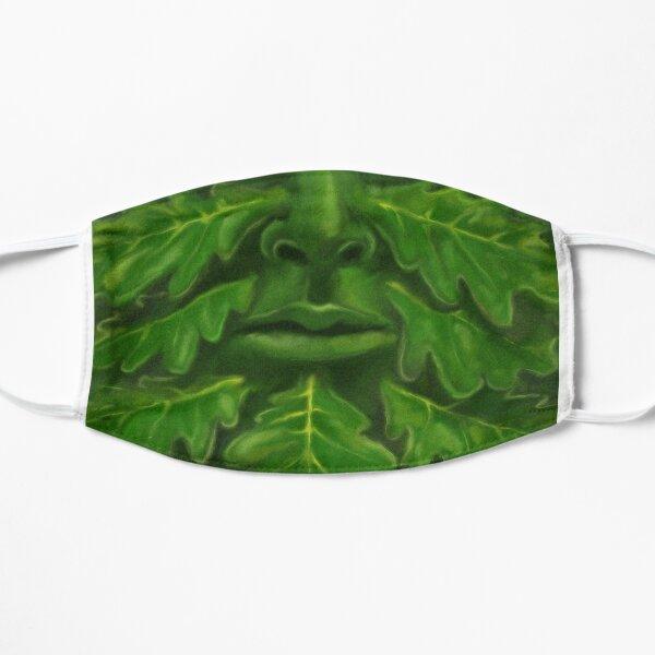 Green Man mask Flat Mask